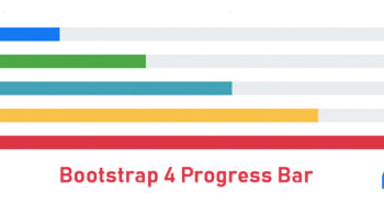 Bootstrap Progress bar Tutorial and Examples