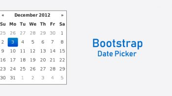 How to Create Date-picker in Bootstrap