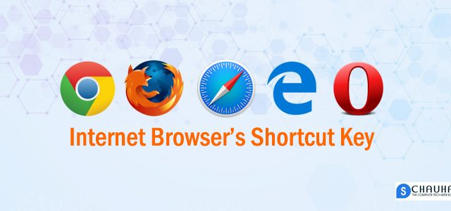 Internet Browser Shortcut Key