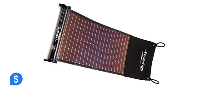 LightSaver USB Roll-up Solar Charger