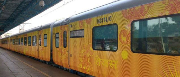First Private Train Tejas