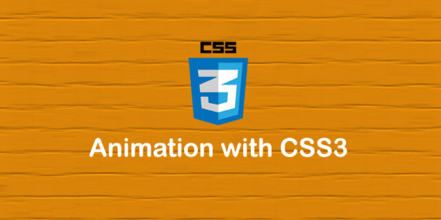 Animation Using CSS