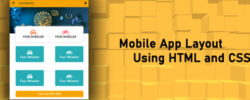 Android App Layout Using HTML And CSS free Download