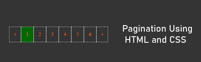 pagination css codepen