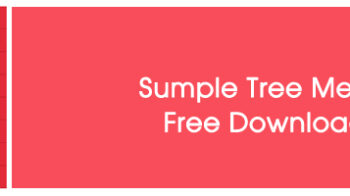 Simple Tree Menu Free Download